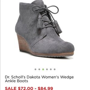 Shoes - Dr scholl's Dakota wedge booties